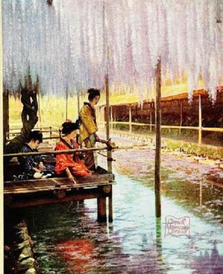 in lotus-land Japan 1910  PDF Travel book