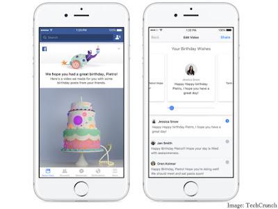Facebook Akan Menyusun Ulang Tahun dan Menampilkan untuk Anda dalam Sebuah Video