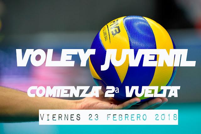 VOLEY JUVENIL: Inicio 2ª Vuelta
