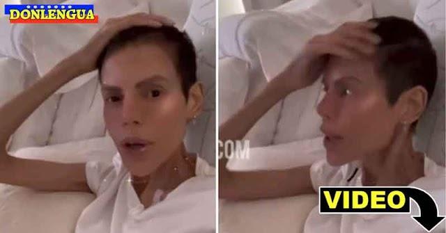 Josemith Bermúdez preocupa a sus seguidores al mostrarse tan flaca por su enfermedad