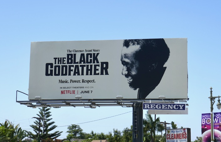 Black Godfather documentary billboard