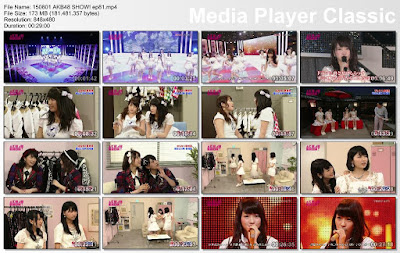 150801 AKB48 SHOW! Ep 81 Subtitle Indonesia