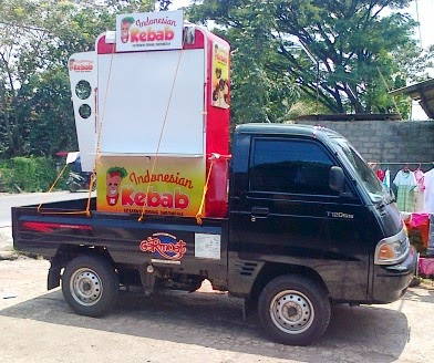 Gerobak Indonesia Kebab Rp 5.900.000 | Gerobak Unik