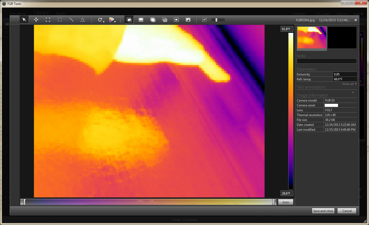 First time thermal imaging with FLIR E5 | Tech Hobby Blender