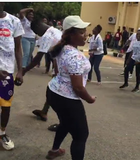 Video: UNILORIN Student Dances 'Soapy' By Naira Marley After Her Final Exam, Signs Out In Style 9