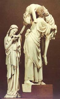 Descente de croix, 1200, Louvre