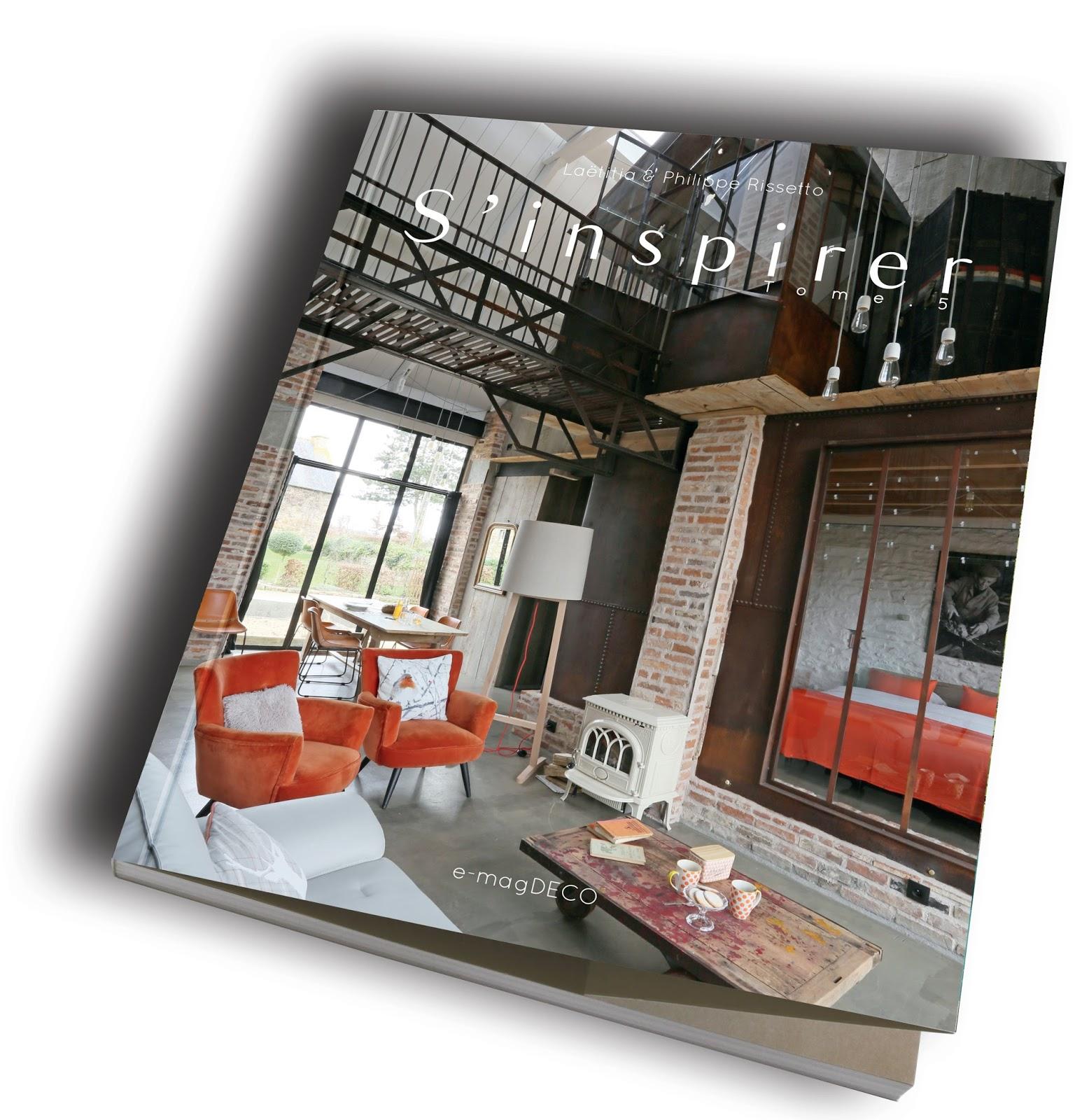 Un loft parisien lové autour d\'une cour ~ e-magDECO : Magazine de ...