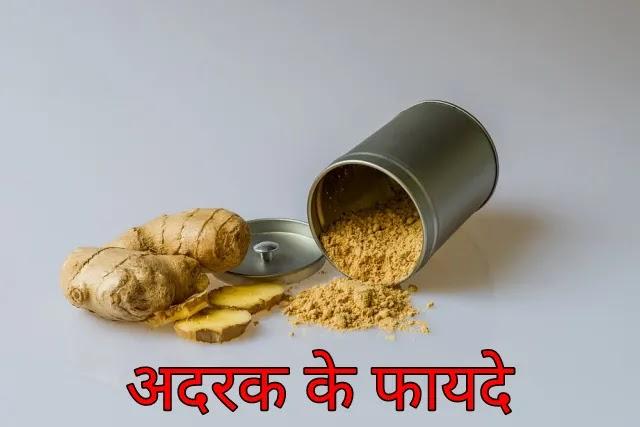 अदरक – जानिए 6 ऐसे कारण की आपको यह क्यों खाना चाहिए (Adrak ke fayde hindi me)