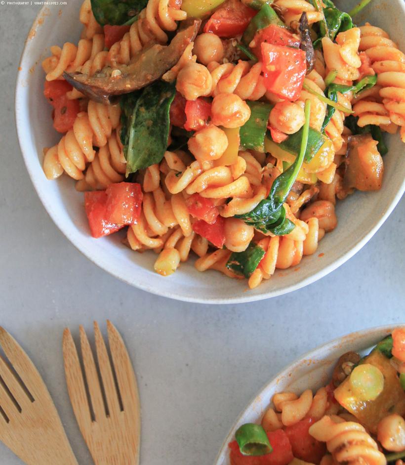 schneller orientalischer Nudelsalat | whatinaloves.com
