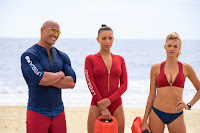 Dwayne Johnson, Ilfenesh Hadera and Kelly Rohrbach in Baywatch (2017) (25)