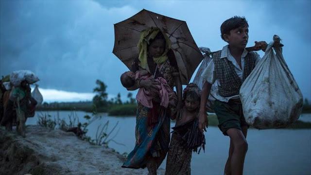 Genocidio de musulmanes rohingyas podrá desplazar a 600.000 niños