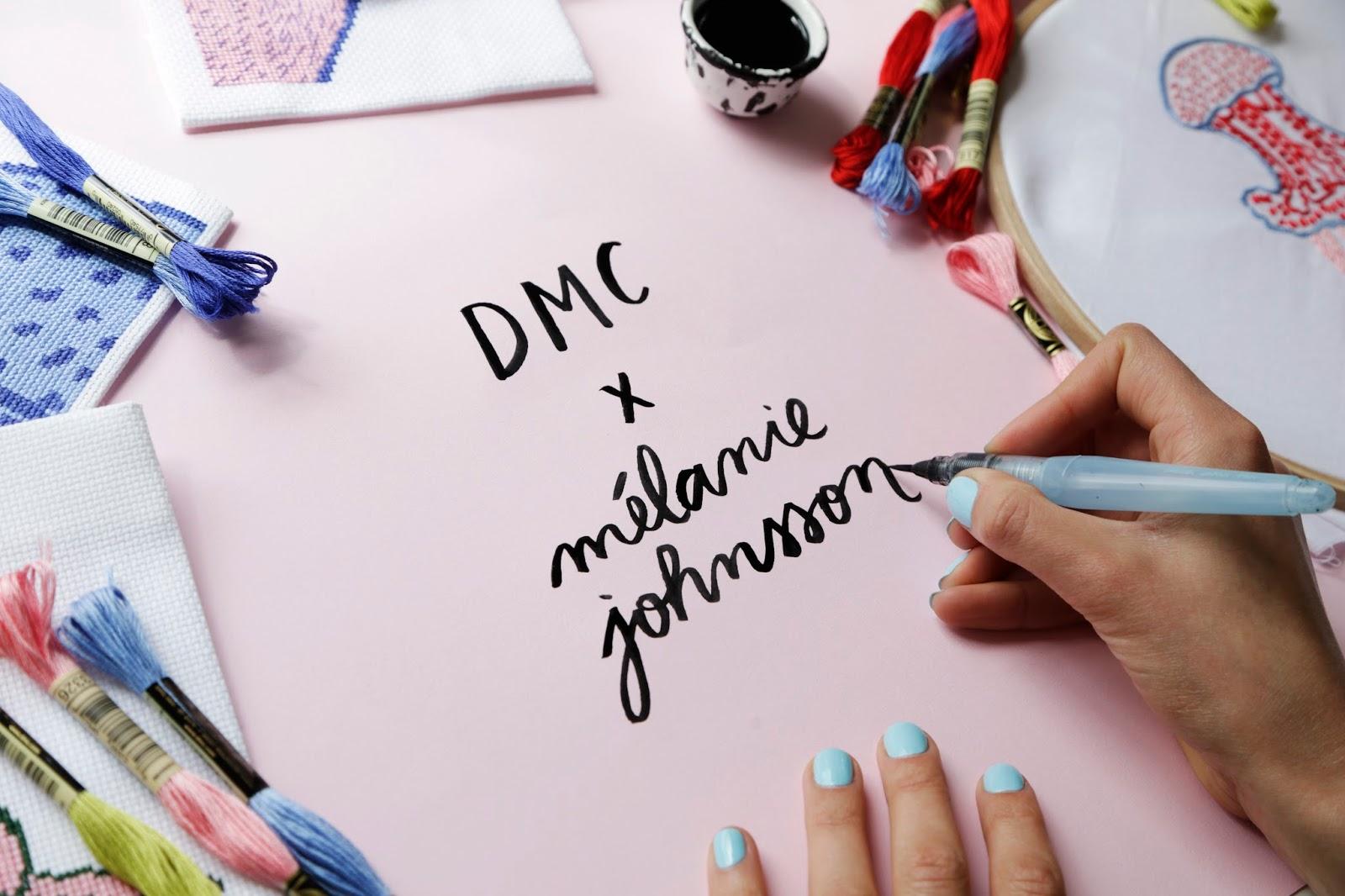 El blog de Dmc: Melanie Johnsson por DMC, una historia bordada