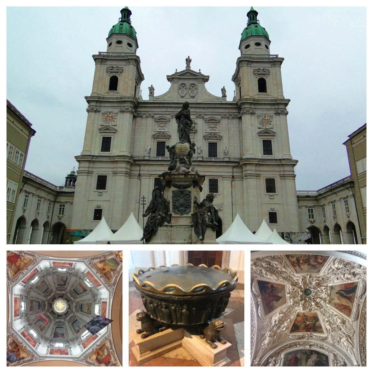 Catedral de Salzburg: o que fazer em Salzburg no outono.