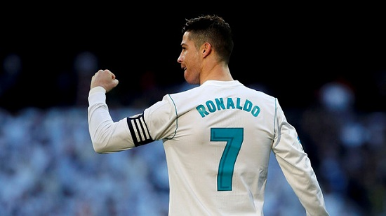 Ronaldo giành danh hiệu Vua phá lưới La Liga 2014/15.