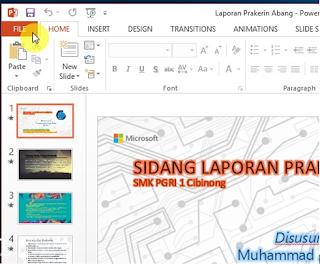 Cara Mengubah File PowerPoint Menjadi Video
