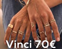 Glamorize Shop : vinci gratis 70 euro da spendere in gioielli