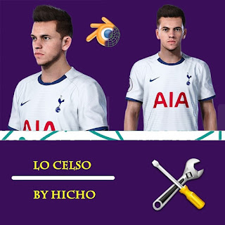 PES 2020 Faces Giovani Lo Celso by Hicho