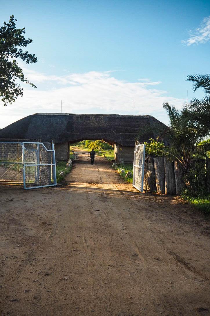 Kruger park entrance