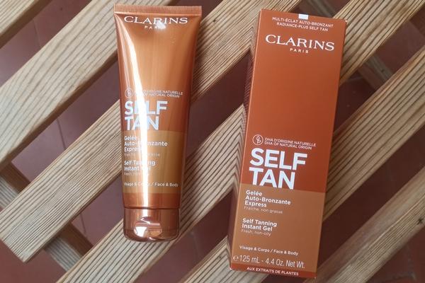 Self Tan Gelée Auto-Bronzante Express Clarins
