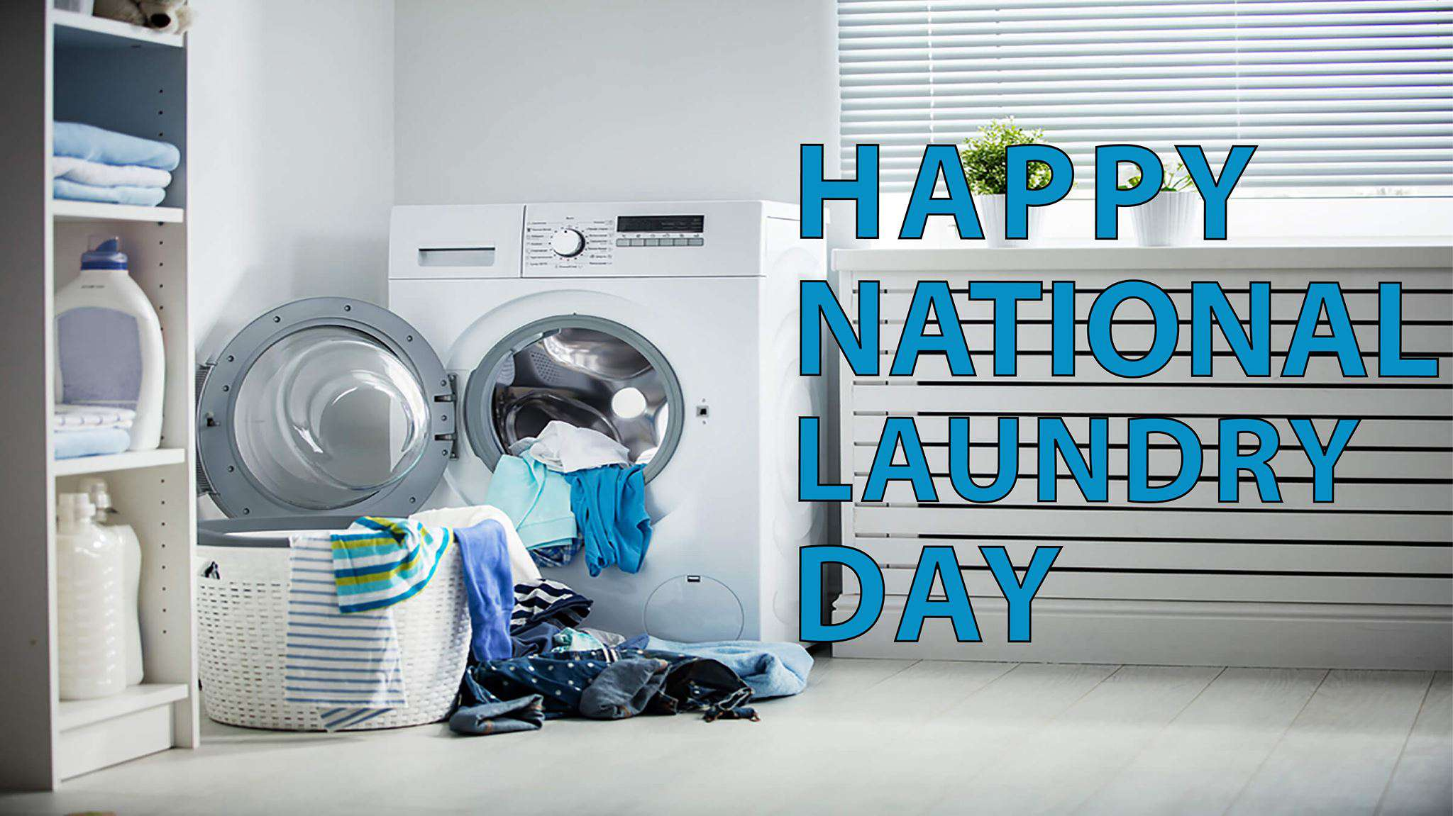 National Laundry Day Wishes Awesome Images, Pictures, Photos, Wallpapers