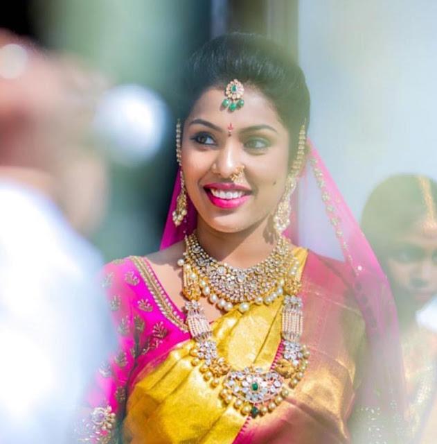Brides in Polki Diamond Jewellery