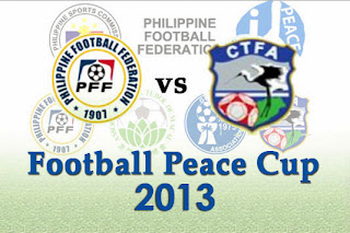 Philippine Azkals vs Chinese Taipei Peace Cup 2013