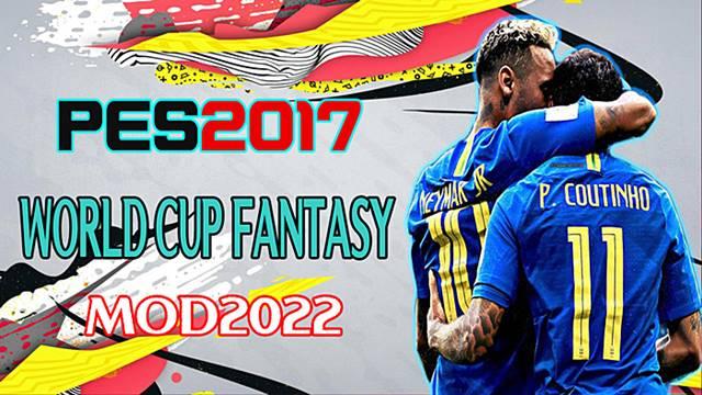 PES2017 World Cup Fantasy Mod 2022 By DzPlayZ