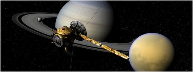 Vida no sistema de Saturno parece ser possível