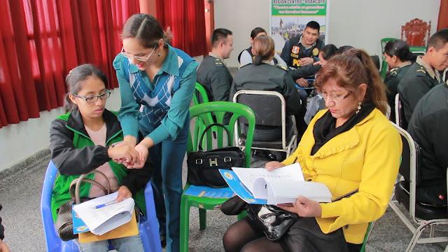 OMAPED El Tambo realiza importante taller sobre lenguaje de señas
