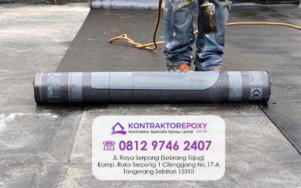 supplier waterproofing Denpasar