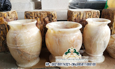 Vas Batu Onyx Murah, Vas Bunga Marmer, Vas Dari Marmer