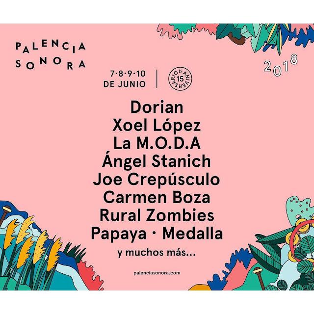 Cartel Palencia Sonora 2018