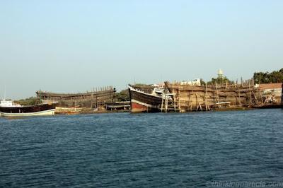 Mandvi shipbuilding yard