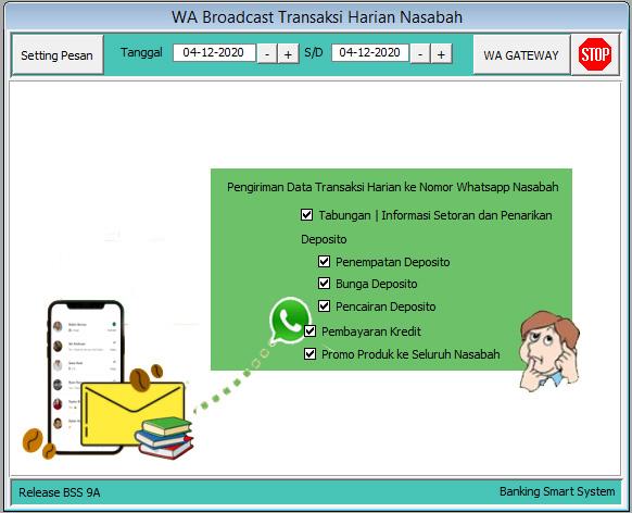 WA Broadcast Nasabah