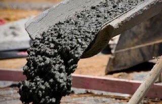 define cement concrete