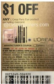 LOreal coupon insert coupon