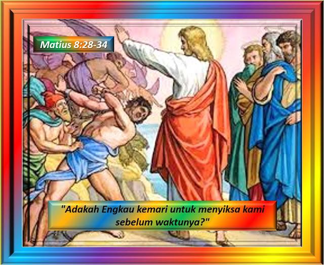Matius 8:28-34