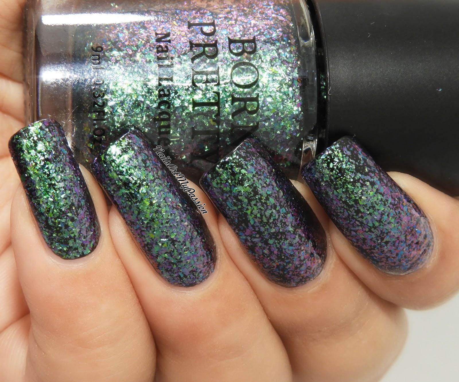 Nail Art My Passion: Mermaid\'s Tail Nails using BORN PRETTY ...