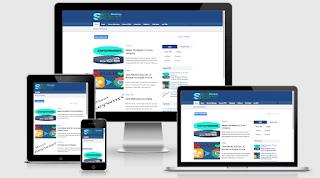 Template responsive adalah kata yang digunakan dalam konsep membuat design template yang memungkinkan tata letak bisa mengikuti resolusi layar saat dibuka pada mobile