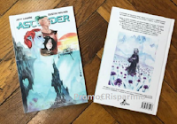 Logo Vinci gratis una copia del nuovo volume di Ascender , il cartonato a colori diJeff Lemire e Dustin Nguyen.