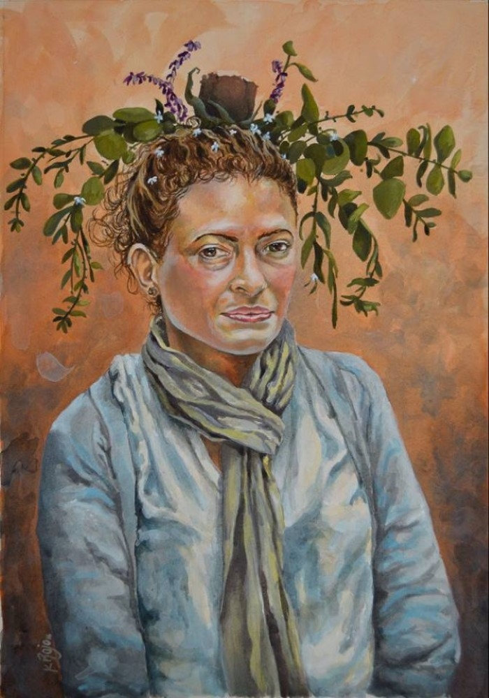 Мексиканский художник. Karla Rojo
