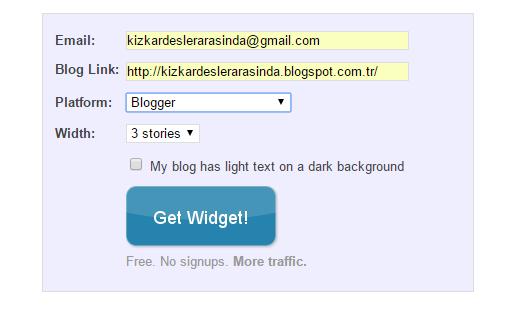 blogger ipuçları