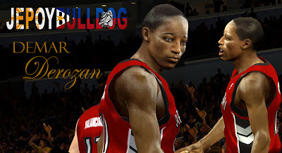 NBA 2K13 DeMar DeRozan Cyberface Patch