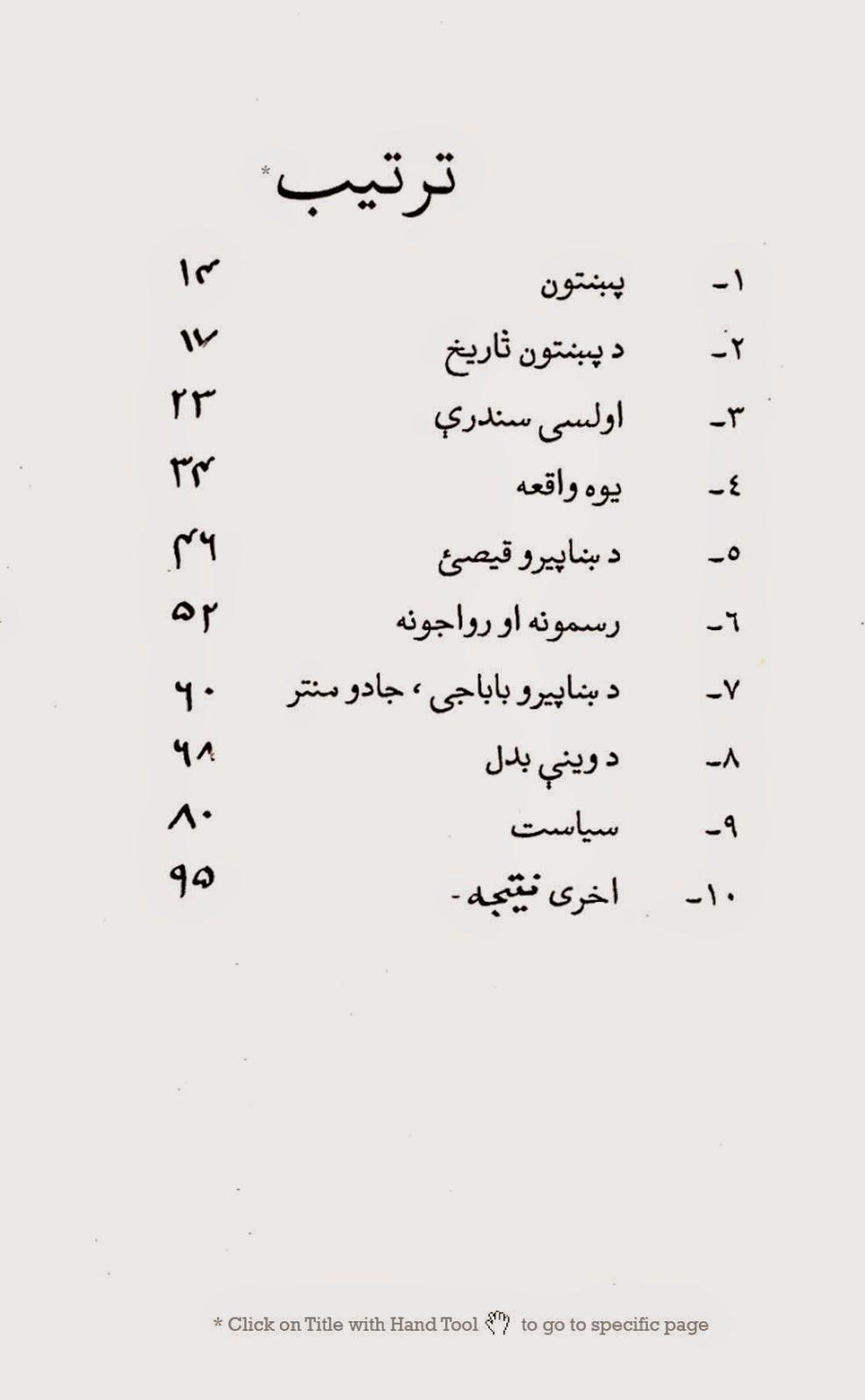 The Pathan By Khan Abdul Ghani Khan in Pashto ~ Kitaboona