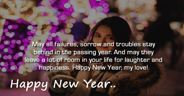 Happy New Year Love Status For GF And BF