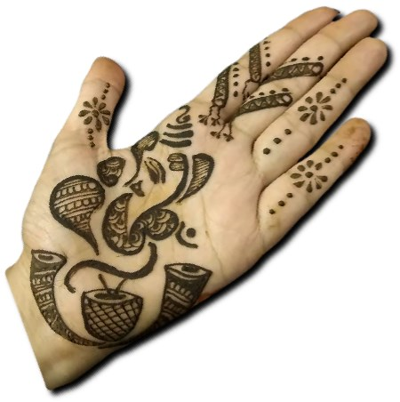 Best Ganpati Mehndi for Kids