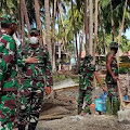 Alhamdulillah, Satgas TMMD KE 111 TNI Kodim 1415 Kepulauan Selayar Bantu Warga Membangun Masjid