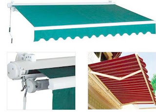 awning gulung - gudang canopy