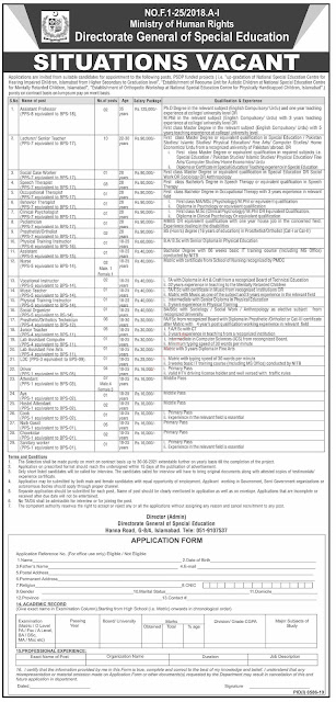 Ministry of Human Rights Jobs Newspaper Ad