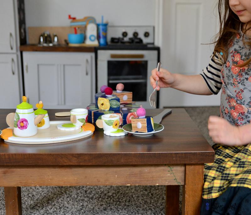 how to make a play tea set